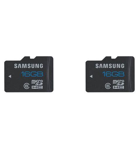 Micro Sd Samsung 16gb Class 6 samsung combo of 16 gb micro sd card class 6 memory