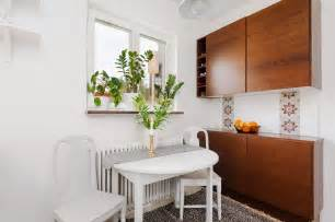 Small Apartment Kitchen Tables Studio Apartment Excels In Space Efficiency With Its Creative Design