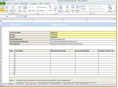 Test Template In Excel by Software Testing Spreadsheet Template Laobingkaisuo