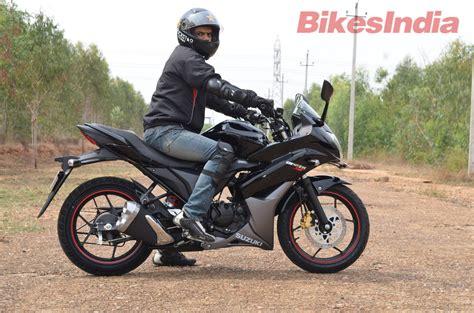 suzuki riding suzuki gixxer sf comprehensive test ride review