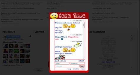 cara membuat buku tamu di blog wordpress dede azis nagara