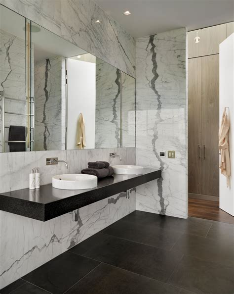 Floating Bathroom Countertop by Master Bathroom With Floating Countertop By