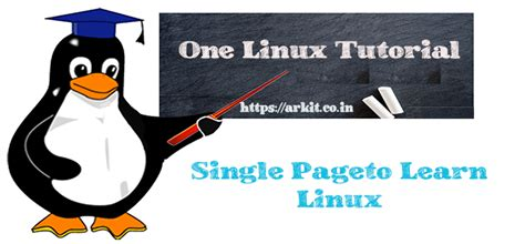 tutorial in linux one linux tutorial illiterate become an expert at weeks time