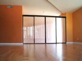 Sliding Door Room Divider Sliding Glass Room Dividers For Lofts