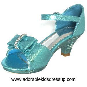 little girls high heel shoes blue high heels size 9 10 2 4
