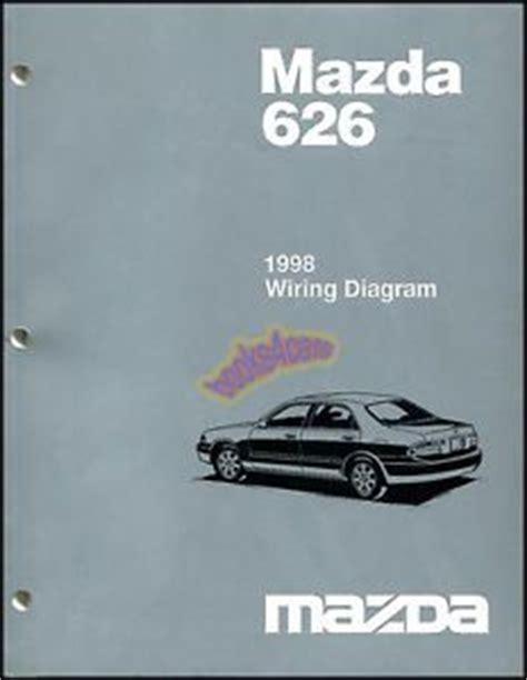 1999 Mazda 626 Car Electrical Wiring Diagram Manual On