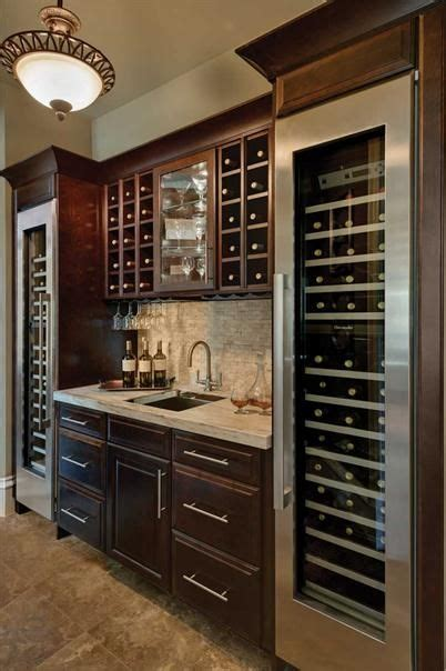 built in bar built ins and wine fridge on pinterest wine bar walk up bar with dual wine refrigerators
