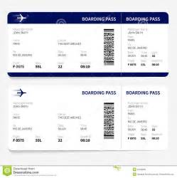plane ticket template boarding pass stock vector image 53186069