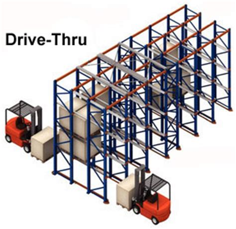 Drive In Drive Through Racking System by Drive In Thru Pallet Racking Systems Pallet Racking