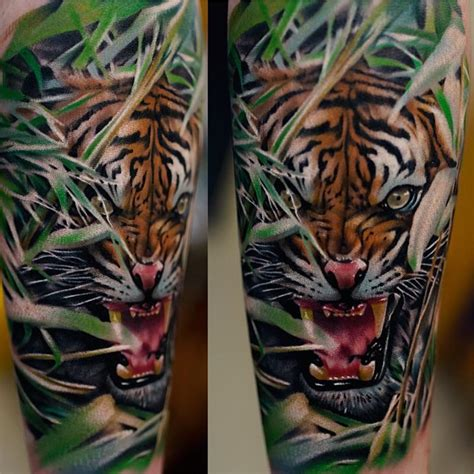 best animal tattoos realistic tiger best ideas gallery