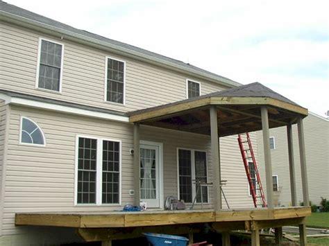 Partial Hip Roof carterworx llc exterior remodeling decks