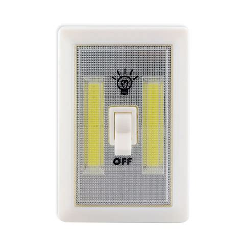battery powered led light switch cob led 2w light switch super bright battery powered no