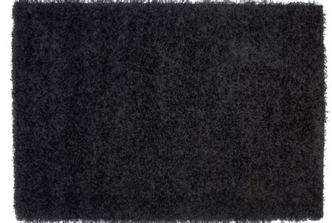 Large Black Shaggy Rug by Black Thick Shaggy Rug Absolute Home