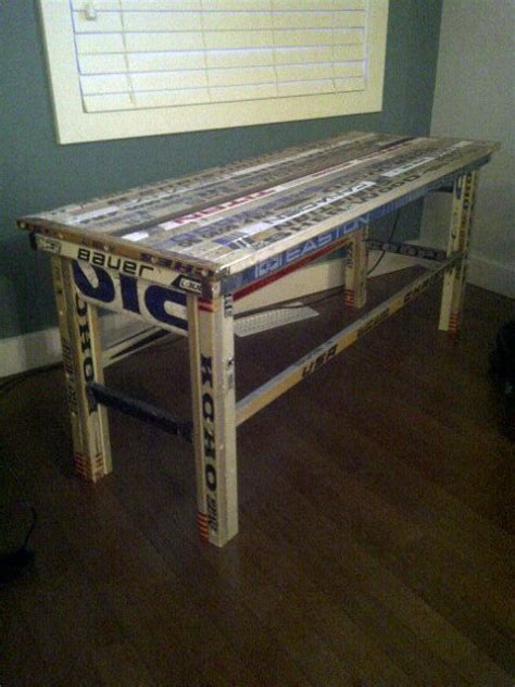 hockey stick table it makes me think of brayton