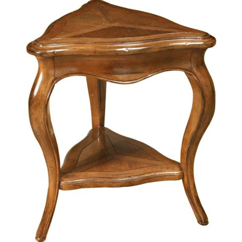Triangle Side Table Lorts 3212 Occasional Triangle End Table Discount Furniture At Hickory Park Furniture Galleries