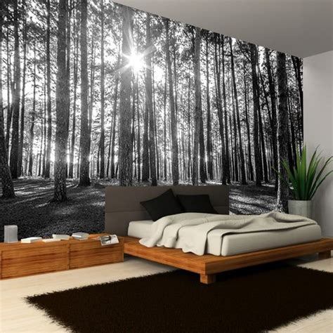 ideas  forest mural  pinterest forest wallpaper forest bedroom  forest decor