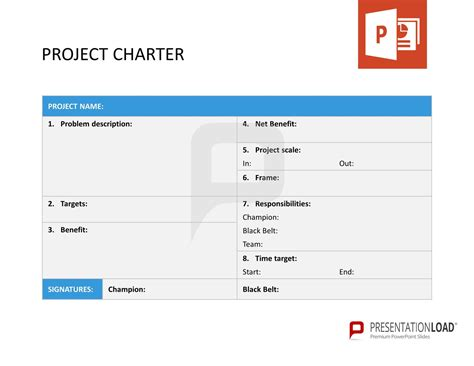 Big 4 Resume Exle by Project Charter Six Sigma Powerpoint Templates Http