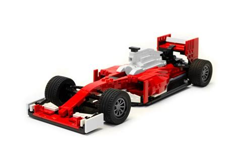 How To Make A F1 Car Out Of Paper - lego sf16 h f1 car is a 1 15 scale model of the