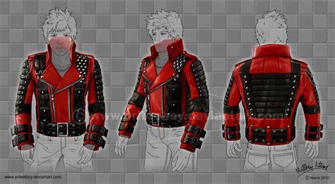 Jaket Anime Ja Nrt 70 Baseball Hoodie Jaket Rikudou rockstar leather jacket design by priteeboy on deviantart