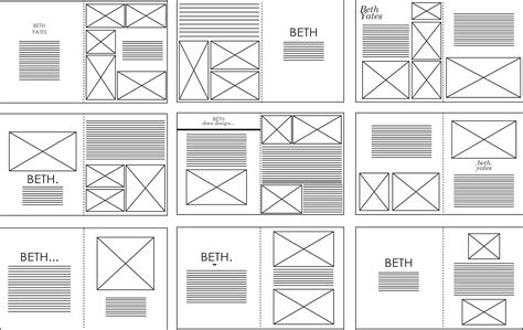 in design layout grid sophie wilson design practice indesign layouts vectored