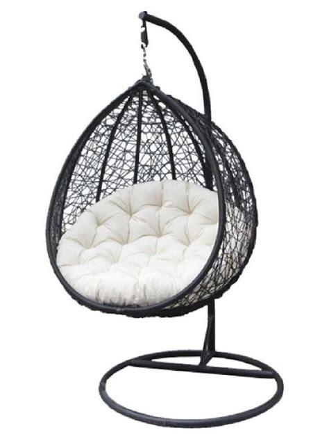 swing hanging chair buy bentley garden rattan hanging swing chair black