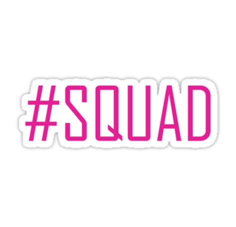 Disney Wall Sticker quot squad quot stickers by renadjei145145 redbubble