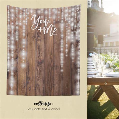 Wedding Backdrop Wood by Woodland Wedding Rustic Wood Backdrop Custom Tapestry