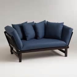 vintage indigo studio day sofa slipcover world market