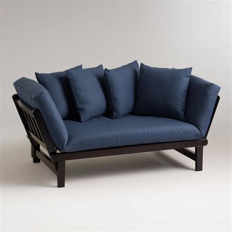 studio day sofa vintage indigo studio day sofa slipcover world market