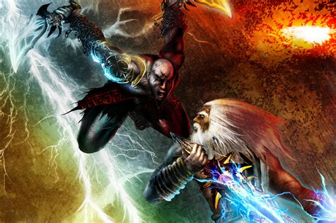 movie thor vs kratos kratos zeus vs thor battles comic vine
