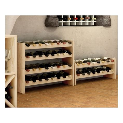 casier  bouteilles en bois serie katea  viti