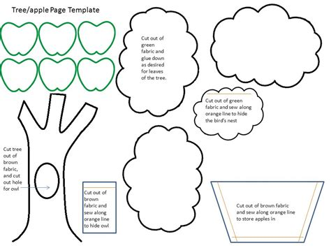 apple pages booklet template supplies list for farm themed busy book ppt