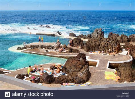 porto madeira swimming pool with water porto moniz madeira