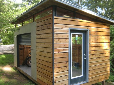 contemporary shed plans diy modern shed project modern backyard and gardens