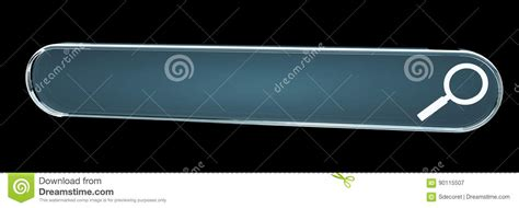 Website Address Search Digital Web Address Search Bar 3d Rendering Stock Illustration Image 90115507