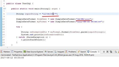 date format parse php java date parsing error quot 2016 06 17 15 42 20 quot stack