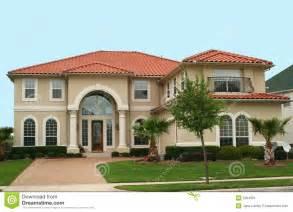 mediterranean home style mediterranean style home stock image image 2304901