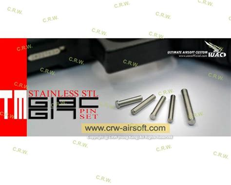 Cincin Romawi Stainless Steel Tm uac stainless steel pin set for tm g17 g18c