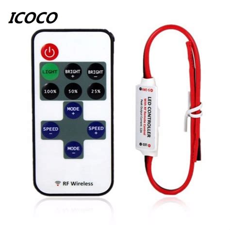 Aliexpress Com Buy 2017 Mini Wireless Switch Controller Led Lights Controller