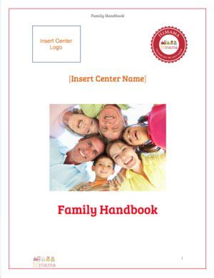 family day care parent handbook template 1000 images about daycare daily schedule templates on