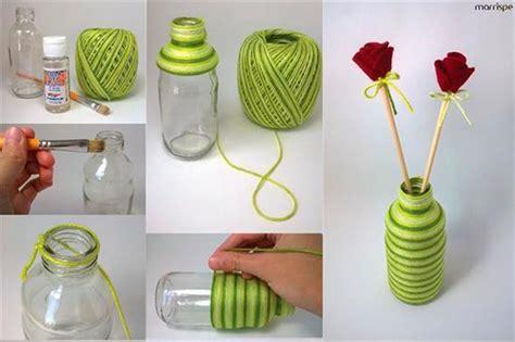 decorar garrafa pet enfeitar garrafas linha sisal e barbante saiba como