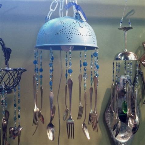 How To Make Handmade Wind Chimes - 479 best images about silverware kitchen windchimes on