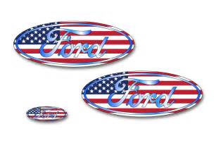 Ford Decals And Emblems Ford F 150 Colored Oval Emblem Overlay Decals 2015 2017