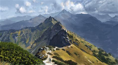 Mountain Scape mountainscape by fleret on deviantart