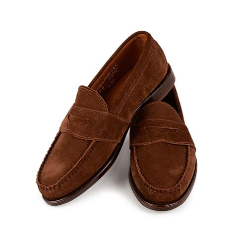 pennie loafers weltline loafer suede