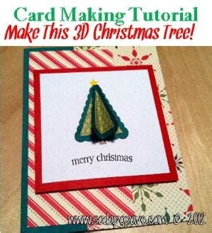 3d card tutorials how to make tree pop up card step by step diy