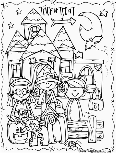 printable halloween coloring pages and activities melonheadz october 2014