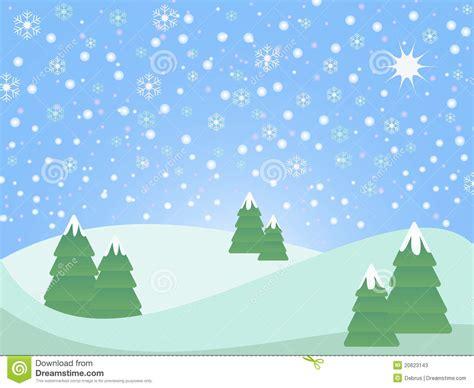Dress Snowy Sr snowy weihnachtslandschaft stock abbildung bild