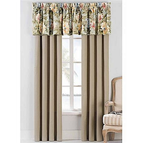 coastal curtains window treatments coastal life luxe isla verde window curtain panel pair and