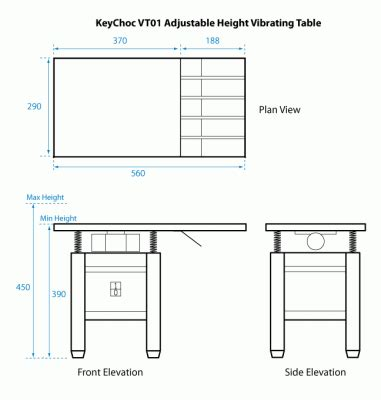 Drafting Table Dimensions Vt01 Vibrating Table Keychoc